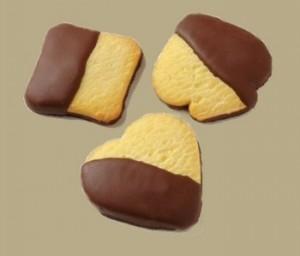 Biscotti di pasta frolla aromatizzata