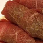 Ricette di carne: Involtini di vitello.