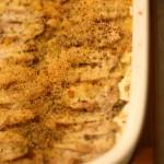 Ricetta di pesce: alici gratinate al forno