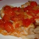 Secondo piatto veloce: filetti di merluzzo alla livornese