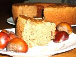 ciambella castagne e cacao