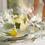 Come apparecchiare la tavola: Nature style