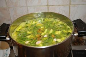cottura minestrone