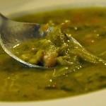 Primo piatto: minestrone al pesto