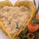 Menù di San Valentino: primo piatto, risotto di Cupido