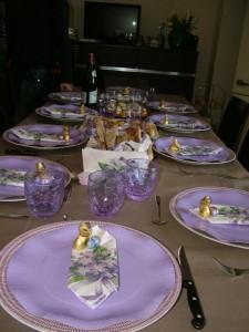 tavola lilla