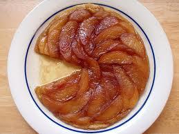 torta di mele fetta