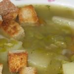 Ricette dal mondo: zuppa di piselli e pollo
