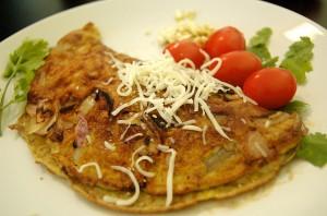omelette granchio