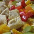 Secondo piatto pasquale: spezzatino di pollo