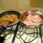Tostatira del pistacchio e rosulatura del maiale