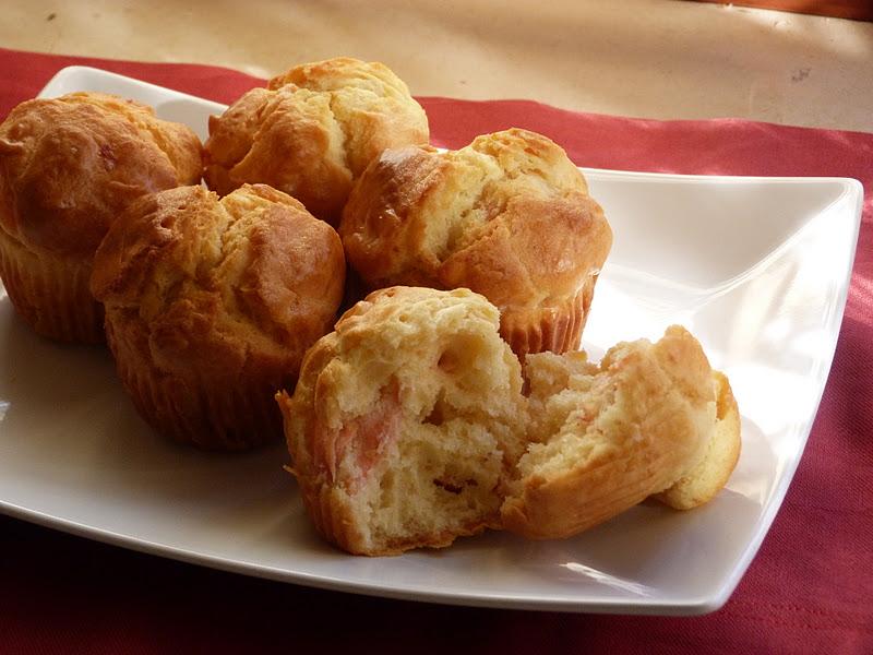 Antipasti: Muffin salati al salmone
