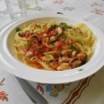 Ricetta di pesce: spaghetti alle cozze