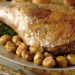 Secondo piatto: Cosciotti di agnello alle castagne