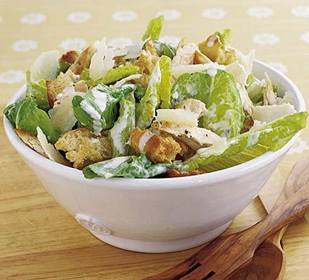 Piatto unico: Caesar salad