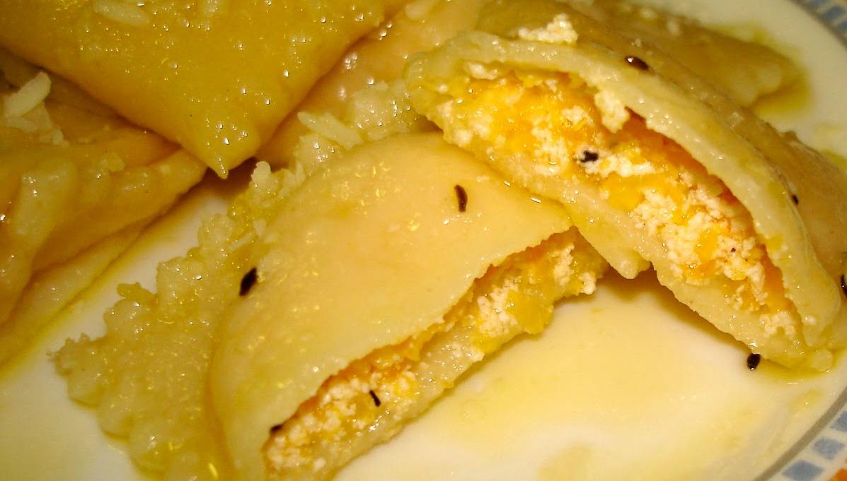 Pasta fresca: ravioli di zucca e ricotta
