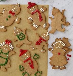 Natale: Segnaposto pan di zenzero