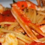 Menù di Natale: spaghetti con gli scampi