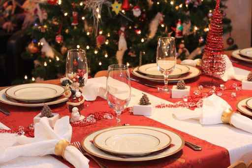 Come apparecchiare la tavola di natale ricette a tavola - La tavola di melusinda ...