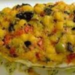 Secondo piatto messicano: orata in crosta al pomodoro e formaggio