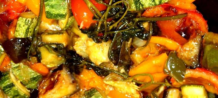 Ricette vegetariane: Ratatouille al microonde