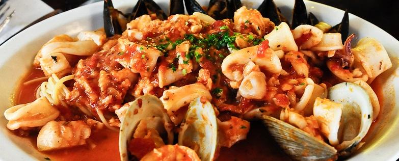 Piatto unico: Zuppa di pesce e patate alla stagnola